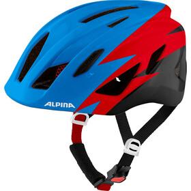 Alpina Pico Helm Kinder blau/rot